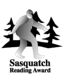 Sasquatch Reading Award logo