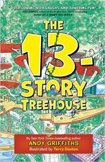The 13-Story Treehouse book cover