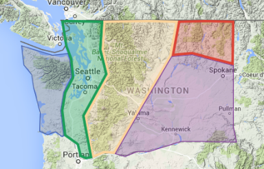Washington Regions