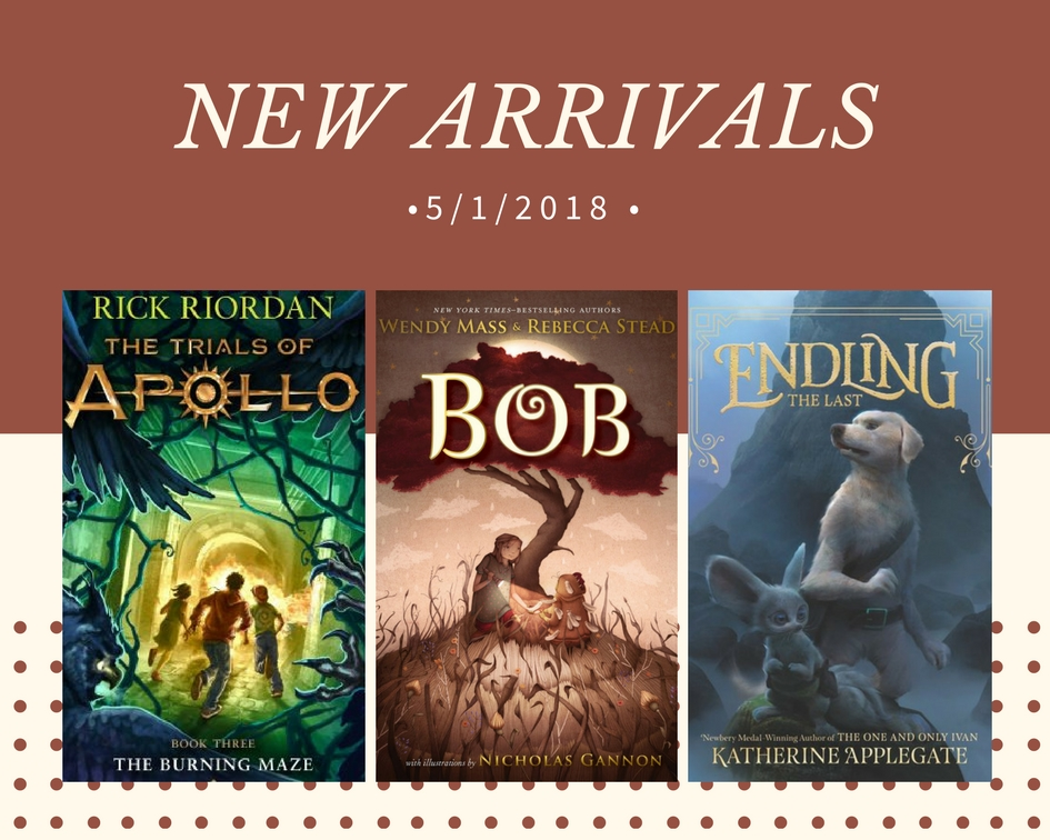 NEW ARRIVAL COVERS 5_1_18