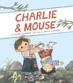 book over Charlie & mouse