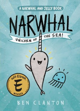 book cover Narwhal unicron of the sea