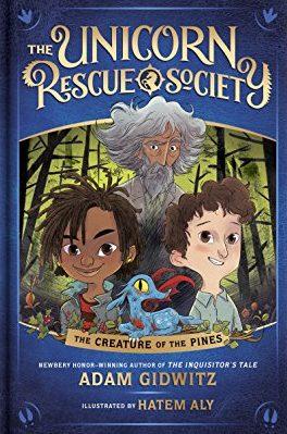 Cover Unicorn Rescue Society #1