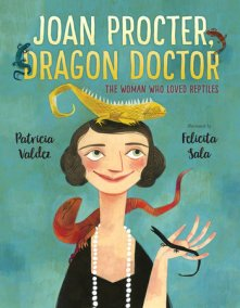 cover image Joan Procter, Dragon Doctor the woman who loved reptiles