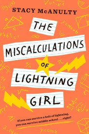 miscalculations of Lightning Girl book cover
