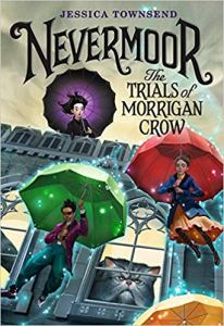 Nevermoor the Trials of Morrigan Crow book cover